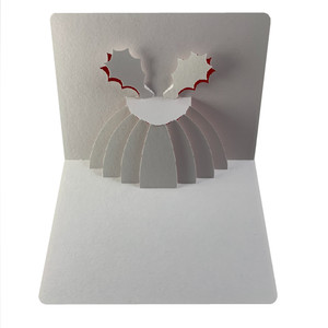 x-mas pudding popup card