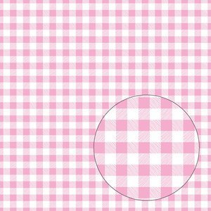 bubblegum pink buffalo plaid seamless pattern