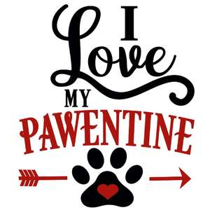 i love my pawentine