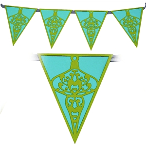 bunting border ornaments