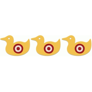 county fair duck target game