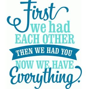 'first we had each other' lori whitlock vinyl phrase