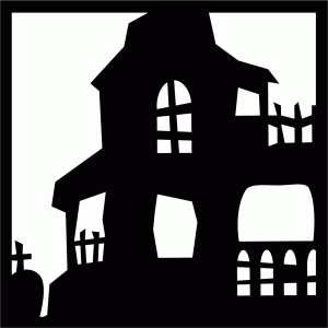 haunted house tile