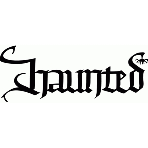 haunted - calligraphic