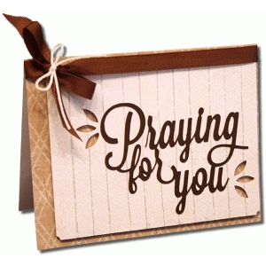 a2 praying for you card