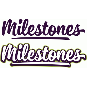 brush titles - milestones