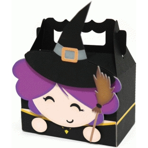 cute witch box