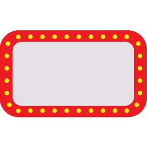 square marquee sign