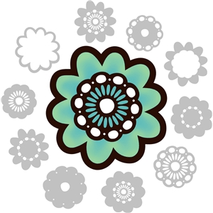 adaptable retro flower