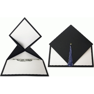graduation hat card
