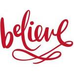 believe handlettered