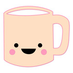 cute kawaii coffee mug