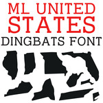 ml united states dingbats