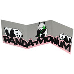 panda-monium accordion card