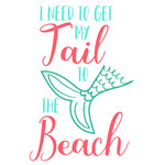 get tail to beach