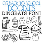 back to school dingbats
