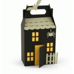 3d haunted house treat box