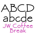 jw coffee break font