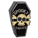 spooky treats coffin box