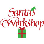 santa's workshop sign