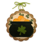 pot o gold disc ornament