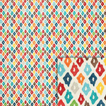 ikat background paper