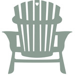 cottage days icons - adirondack chair