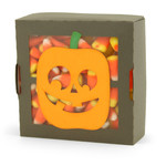 no-glue box halloween boo jack-o-lantern