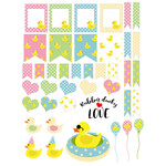rubber ducky planner stickers