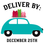 deliver by dec 25th bug with presents