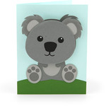 bobble head card koala