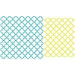 quatrefoil backgrounds - 12x12