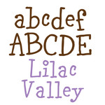lilac valley font