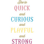 she is quick quote