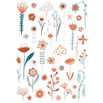 flowers of summer stickers