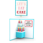 pop up card birthday cake