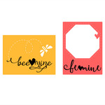 bee mine journaling cards
