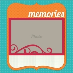 memories page layout