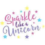 sparkle like a unicorn