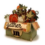 gather in pumpkins 3d box card