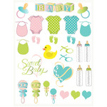 baby-themed planner stickers