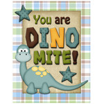 you are dino mite journaling card