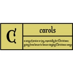 c is for carols pc