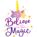 believe the magic unicorn