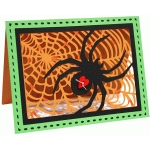 a2 spider and web card