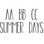 summer days font