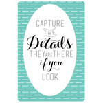 capture the details
