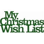'wish list' phrase