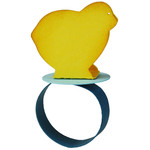 easter baby chick ring