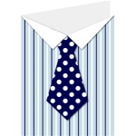 shirt and tie card